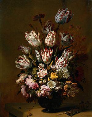 Hans Gillisz. Bollongier - Hans Gillisz. Bollongier, Flower Piece, Rijksmuseum, 1639.