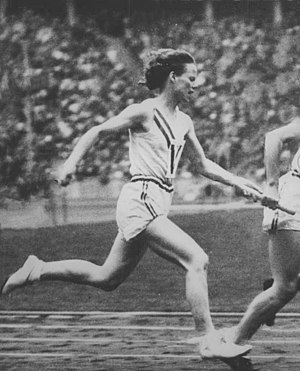 Harriet Bland - Bland at the 1936 Olympics