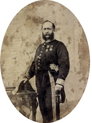 Harry Ord - The official picture of Sir Harry Ord as the Governor of the Straits Settlements