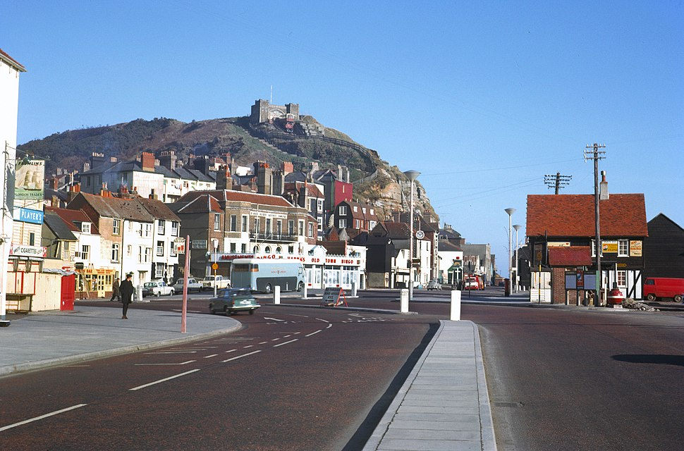 Hastings Old Town July 1965