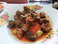 Hati ayam petai masakan Padang.JPG