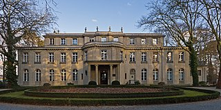 Wannsee Conference 1942 meeting of Nazi leaders to formalize plans for the Holocaust