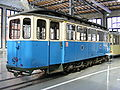 Hawa-Triebwagen 642 F 2.10 Münchner Straßenbahn - Verkehrszentrum.JPG