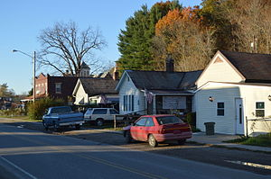 National Register of Historic Places listings in Hocking County, Ohio - Image: Haydenville miner housing