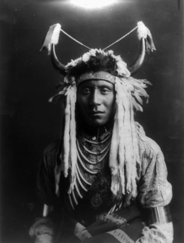Head Carry-Piegan Blackfoot Indian- Edward S. Curtis