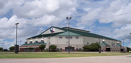 Extraco Events Center in Waco (formerly the Heart O' Texas Coliseum) Heart O' Texas Coliseum-cropped.jpg