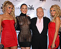 Hef with Karissa Dasha Kristina 2007.jpg