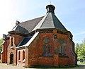 Heiligendamm denkmalgeschützte Waldkirche.JPG