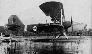 Heinkel He 59 maritime reconnaissance floatplane