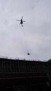 Helicopter lift at Waterloo station I.JPG