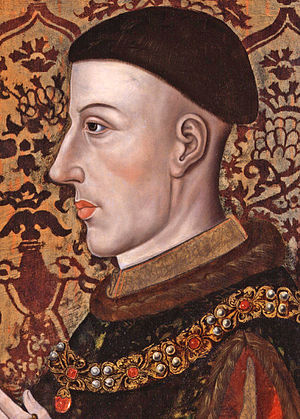 Duke of Lancaster - Henry, Prince of Wales, was the last person to hold the title before it merged in the crown on his accession as Henry V.
