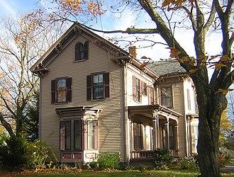Henry F. Barker House - Image: Henry F Barker House Quincy MA 01