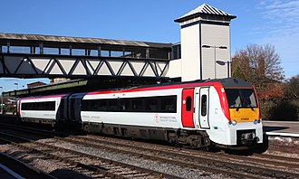 Transport for Wales Rail Services - Image: Hereford Keolis Amey 175003 Carmarthen service