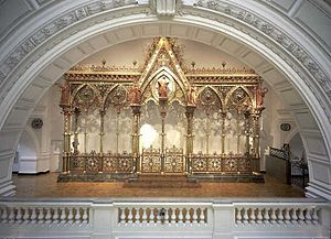 Francis Skidmore - Hereford Screen, 1862, designed by Sir George Gilbert Scott and made by Francis Skidmore