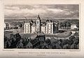 Heriot's Hospital, Edinburgh, Scotland. Line engraving by W. Wellcome V0012585.jpg