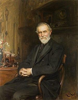 Hermann David Weber - Hermann David Weber by Hubert von Herkomer, 1902