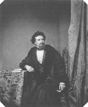 Hermann Lingg - Hermann Lingg, ca. 1860