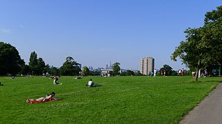 Brockwell Park park in south London
