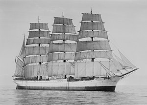 Windjammer - Four-masted barque Herzogin Cecilie, an archetypal windjammer