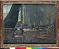 Het atelier van Marthe Verhaeren in de rue Potagère, Marthe Massin, schilderij, Museum Plantin-Moretus (Antwerpen) - MPM V V 603 067.jpg