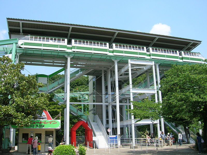 File:Higashiyama zoo and botanical garden-Sky view train01 ...