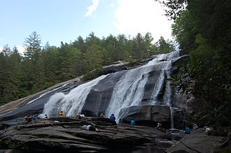 DuPont State Forest - View of High Falls in DuPont Forest