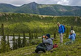 Hikers looking out over Joe Creek, Ivvavik National Park, YT.jpg