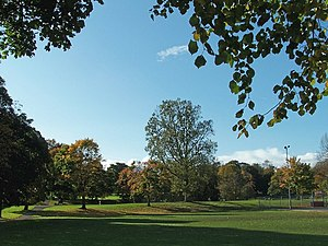 English: Hillsborough Park, Hillsborough