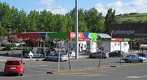 Eroski - A petrol station in Leioa, Biscay