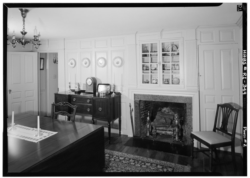 File historic american buildings survey june 1971 view for Dining room 56 willoughby street