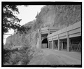 Historic Columbia River Highway, Mosier Twin Tunnels, East of Mosier, Troutdale, Multnomah County, OR HAER ORE,26-TROUT.V,1T-24.tif