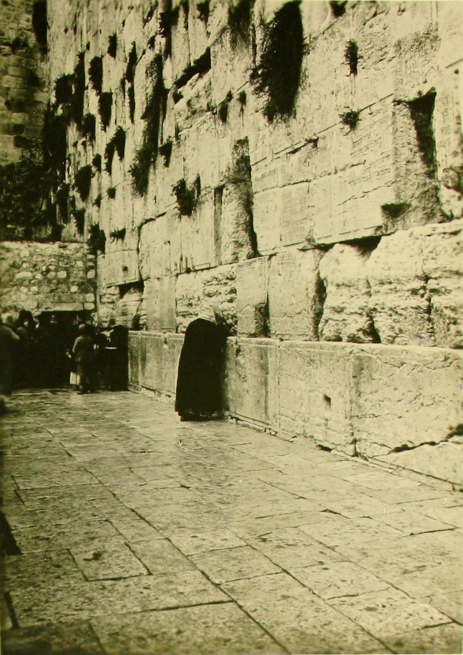 Historical images of the Western Wall - 1920 C SR 016a