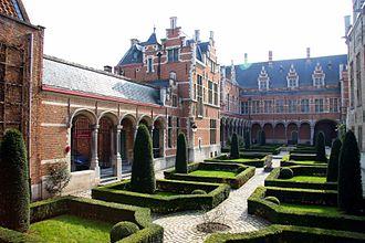 Hof van Savoye - Inner courtyard of Margaret of Austria's Palace