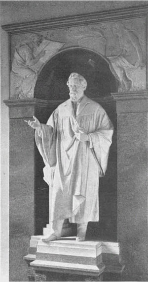 August Wilhelm von Hofmann - Image: Hofmann Denkmal im Hofmann Haus 1900