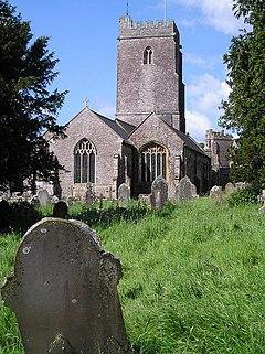 Holcombe Rogus church next to Holcombe Court - geograph.org.uk - 807455.jpg