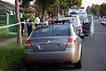 Holden Omega detectives vehicle and officers at scene - Flickr - Highway Patrol Images.jpg