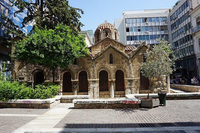 File:Holy Church of Kapnikarea. 11th cent.jpg