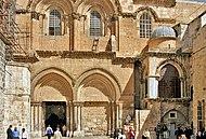 Entrada principal para a Bas�lica do Santo Sepulcro
