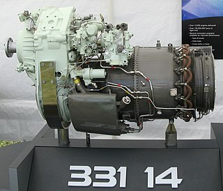 Honeywell TPE331 Turboprop aircraft engine