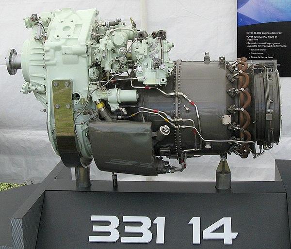 Mini Turboprop Engine: Honeywell HTF7000