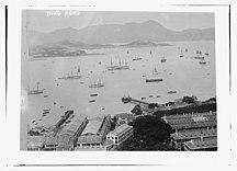 香港-香港開埠-Hong Kong -harbor- -1910