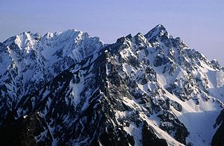 Mount Hotakadake Mountain in Nagano Prefecture, Japan