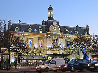 Saint-Ouen, Seine-Saint-Denis - City hall