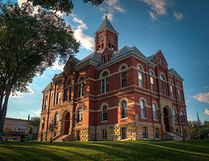 Howell, Michigan - Livingston County Courthouse
