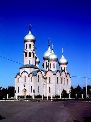 Sharypovo, Krasnoyarsk Krai - A church in Sharypovo