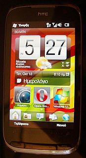 HTC Touch Pro2 smartphone model