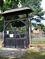 Hudlice, památník Josefa Jungmanna, vrata.jpg