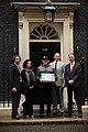 Hugo Tagholm Delivering the POW Petition to 10 Downing Street with Ben Howard and Stephen Gilbert MP, along with Lauren Davies and Andy Cummins of SAS.jpg