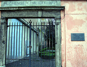 Huguenot Cemetery, Dublin - Entrance