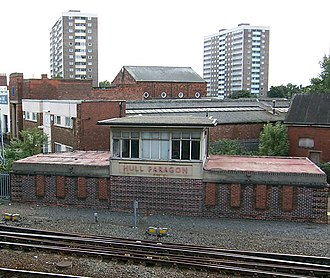 Hull Paragon Interchange - 1930s signal box (2006)